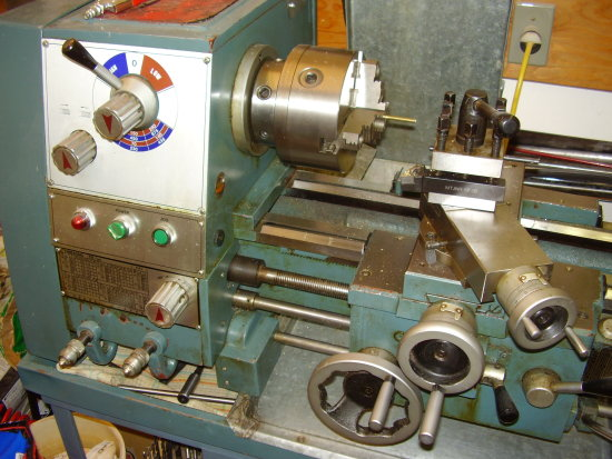 "12"" x 24"" machine lathe"